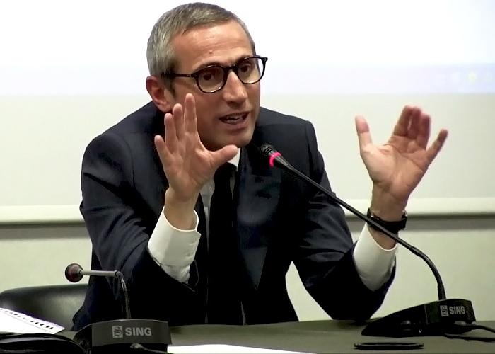 Il segretario generale della Fnsi, Raffaele Lorusso